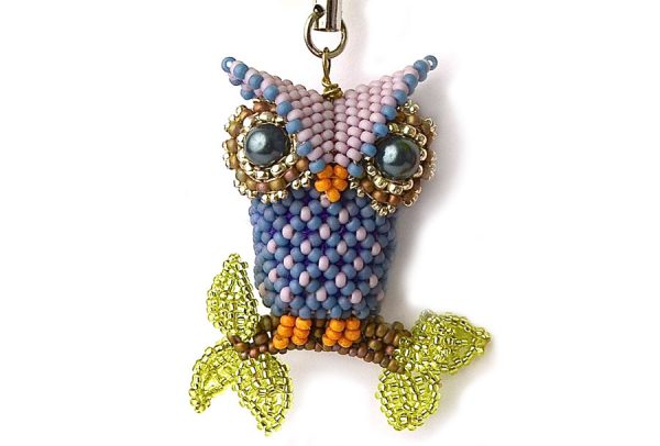Little Owl - Blue