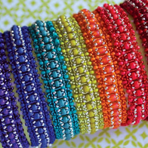 National Beading week bracelet