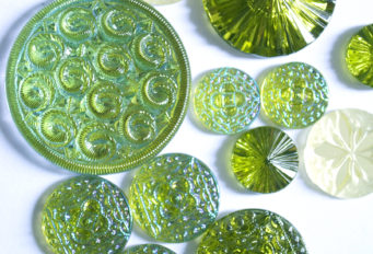green glass cabs